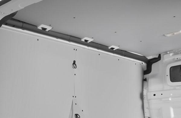 Panelado techo y protector frontal